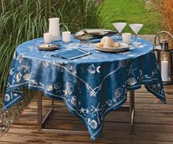 Beauville Odyssee Tablecloth - Blue