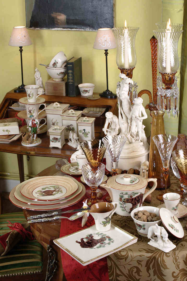 French Dinnerware, Dishware, Glassware, and Crystal